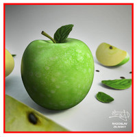 Apple fruit - green + BONUS