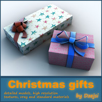 3d christmas gifts
