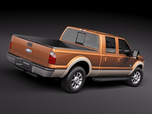 3d f250 superduty 2010 - ford f250 superduty 2010... by squir