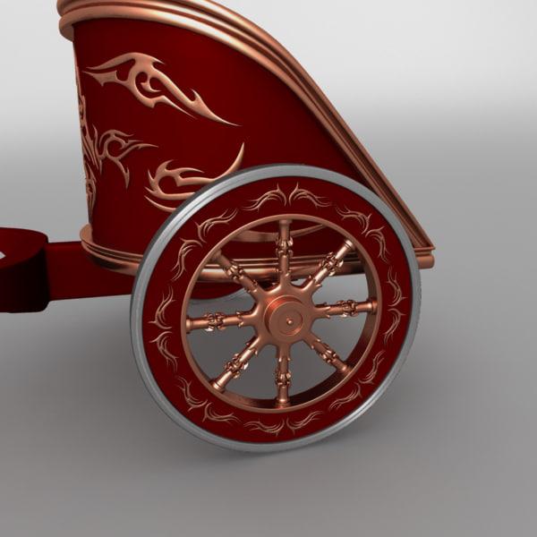 3d version roman war chariot. Black Bedroom Furniture Sets. Home Design Ideas