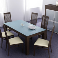 dining room interior 02a 3ds