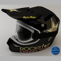 TLD RockStar Helmet and Goggles