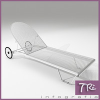 sunbed exterior designs 3d model