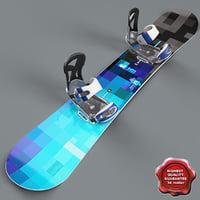 3d snowboard v4