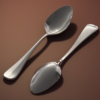 c4d teaspoon spoon