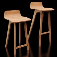 3d morph bar stool zeitraum model