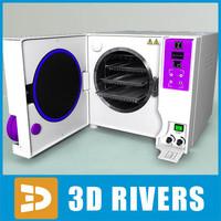 3d chemistry lab autoclave