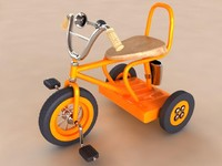 3ds max kids bike