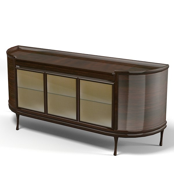 International sideboard ceccotti 3d model for Sideboard 3d