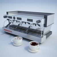 3d la espresso machine
