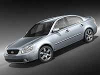 kia optima 2006 sedan 3d 3ds