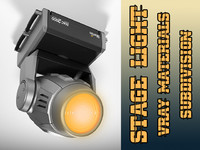 3dsmax martin moving head stage light