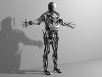 Cybor Robot character terminator