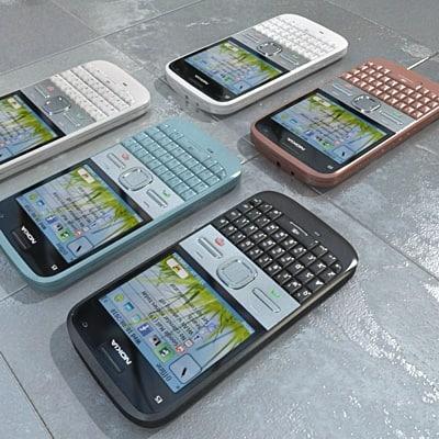 Nokia E5 (all colors)