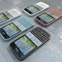3d nokia e5 color model