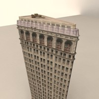 3d model flatiron building new