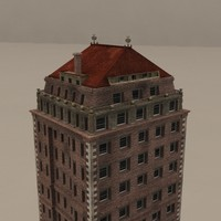 skyscraper new york 3d obj
