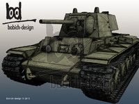 Tank KV 1 Kliment Voroshilov Russian soviet WWII