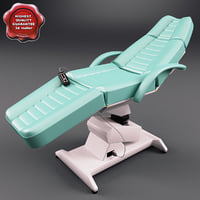 3d model dental chair v2
