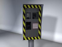 3d model automatic radar
