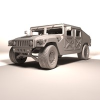 3d humvee luxury edition