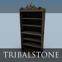 free simple shelf 3d model