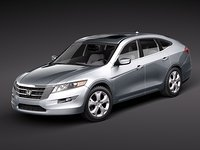 3d model honda accord crosstour