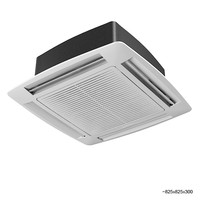 carrier 42gw hydronic cassette fan coil unit conditioner air coll split ceiling climate control