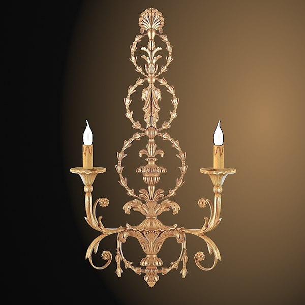 chelini classic aroque empire wall lamp sconce light.jpg