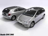 honda civic 2002 3ds