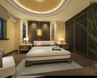 3d model guest room