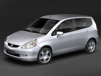 3d honda fit jazz 2007 model