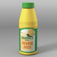 3dsmax orange juice