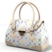 3d obj louis vuitton women