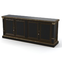 3d classic sideboard chest