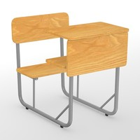 3ds max school chair