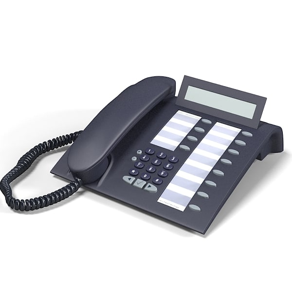 Office Phone On Desk