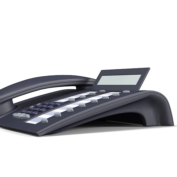 3dsmax siemens optipoint phone - siemens optipoint telephone... by archstyle