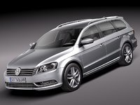 volkswagen passat 2011 estate 3ds