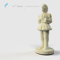 chess figures bishop 3d max