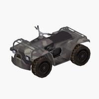 3d quad atv model