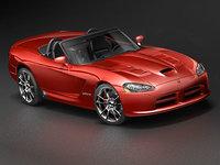 3d dodge viper srt-10 model