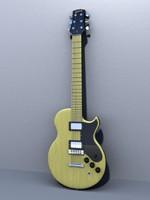 3d model classic gibson l6-s