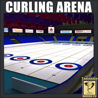curling arena c4d
