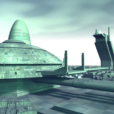 City Science Fiction Space (page 4) - Pics about space