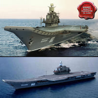 obj russian aircraft carrier admiral