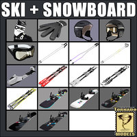 Ski and Snowboard Collection