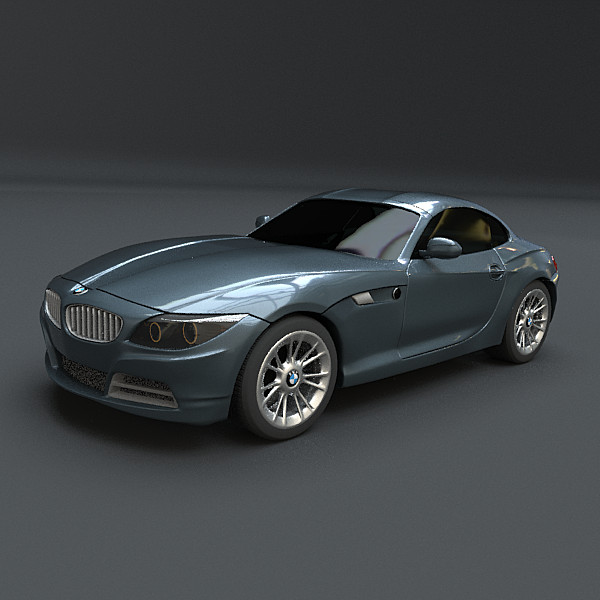 Bmw Z4 Coupe Used: Z4 3d Models
