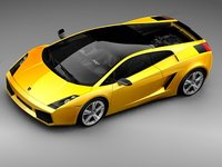 lamborghini gallardo se car sport 3d model