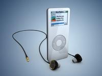 ipod headset 3d model